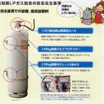高知県は日本一!?LPガスボンベ設置の地震対策安全基準