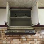 吊り戸棚下の換気扇のお取り換えもお任せあれ【浅型レンジフード施工事例】