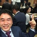 LPガス青年部会の四国ブロック会議in高松。懇親会突入です。