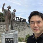 【土佐偉人銅像巡り】8カ所目。龍馬の妻「お龍」と妹「君江」の姉妹像に会ってきました。
