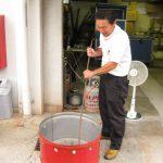ガス屋さんが...感謝祭で使う「ドラム缶石焼き芋機」を試作する!