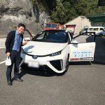 未来の車、燃料電池車「MIRAI」に試乗してきました。