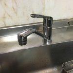 """自称""""混合水栓マイスター""""の寺やん師匠が助っ人に!キッチンの流し台用シングルレバー混合水栓のお取替え!"""