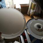 古くなった照明器具をLEDの照明器具にコツコツ取替えていますよー!