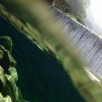 【高知の滝めぐり9 背龍の滝】安居渓谷で見た最後の龍と、絶景スポット水晶淵の深いブルー。