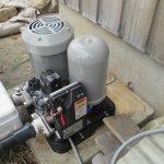 ガス屋さんが、、、取り換える、川本製作所の地下水用ポンプ