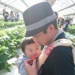 長田家新春恒例1年分のビタミン補給する行事!西島園芸団地のいちご狩りへ行って来ました!
