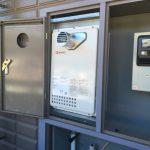 単機能の給湯器の取替工事の現場に立ち会わさせてもらいました!