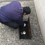 混合水栓の交換工事の現場に立ち会わさせてもらいました!