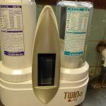 【家庭用浄水器ツインe】美味しいお水を使っていただくために。年に一度のカートリッジ交換とお手入れ。