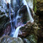 【高知の滝めぐり21 雨竜の滝】ダイナミックな渓谷と自然をいっしょに楽しめる滝。