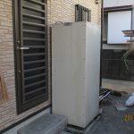 ガス屋さんが、、、行う、電気温水器からガス給湯器への切り換え工事