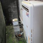 ガス屋さんが、、、行うパロマの風呂給湯器の取り付け工事