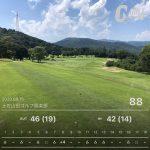つ、つ、ついに80台がでました!! マインドガス ゴルフ倶楽部2020