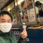 揚げピッツァ専門フードトラック「LIGGURRI(リッグーリ)」にやっと出会えました!