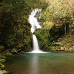 【高知の滝めぐり32 大釜の滝】山深い場所にある滝。