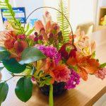 【母の日】春花まつりで子ども達が生け花を作ってみました!