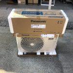 古くなったサンヨー製エアコンを、最新のパナソニック エオリアに取替えました!!