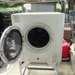 Rinnaiのガス衣類乾燥機 「乾太くん」を、お試し設置してきました。