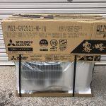 25年使ったNEC製エアコンを、三菱 霧ヶ峰 に取替えました!!