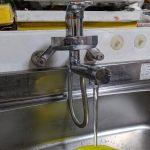 水が止まらない。ワンレバー混合水栓、カートリッジ取り換え!の巻