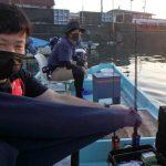 船釣りに行って、初体験!!これも釣りの醍醐味?の巻